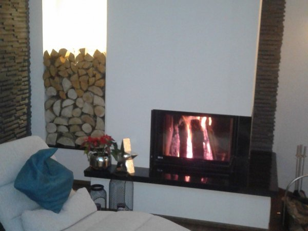 Eckkamin mit Warmwasserbereitung, Region Jena